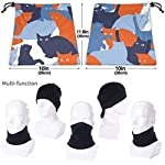 Belongtu Écharpe Seamless Pattern with Cats in Military Style Headband Face Cover Bandana Head Wrap Scarf Neck Warmer… 9