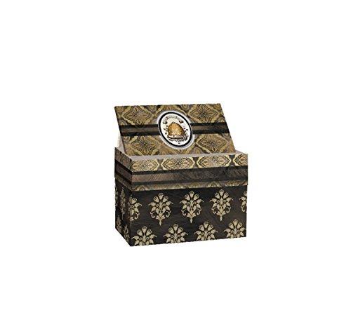 Lang 2011090 Honey & Grey Recipe Card Box by Lori Siebert, -