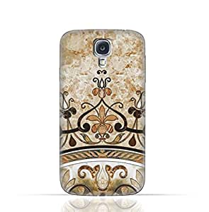 Samsung Galaxy S4 Active TPU Silicone Case With Abstract Mosaic Tile Texture Design