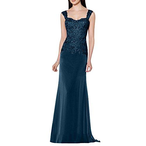 Spitze Traeger Neu Navy Brautmutterkleider Partykleider Lang Abendkleider La Brau Ballkleider Zwei mia Blau Formalkleider Etuikleider pOBtq7WIn
