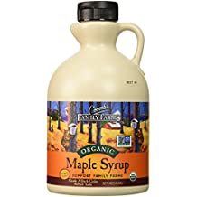 Coombs Family Farms Maple Syrup, Organic, Grade A, Dark Color, Robust Taste, 32 Ounce Jug
