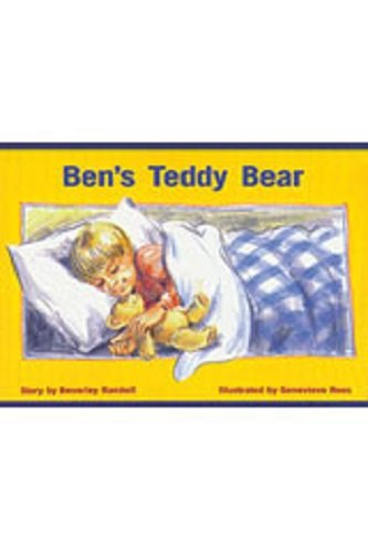 Learning Resources Three Bear - Rigby PM Platinum Collection: Individual Student Edition Red (Levels 3-5) Ben's Teddy Bear