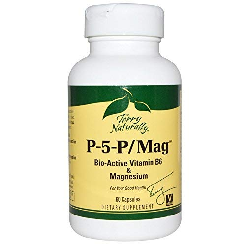 Terry Naturally/Europharma P-5-P/Mag -60 Capsules -2 Pack