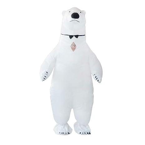 Amazon.com: Disfraz de oso polar hinchable para una rosa de ...