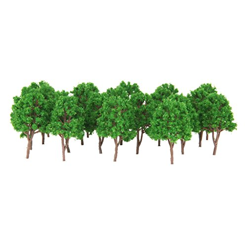 MagiDeal 20Pcs Model Trees Train Scenery Landscape for sale  Delivered anywhere in USA