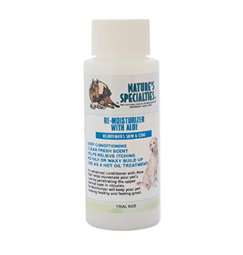 Nature's Specialties Aloe Remoisturizer Pet Conditioner, Trial Size