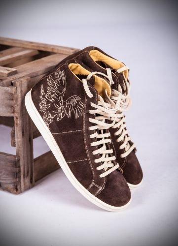 4db0d763c025 Almsach Trachten Sneaker Herren espresso Größe 41  Amazon.de  Schuhe ...
