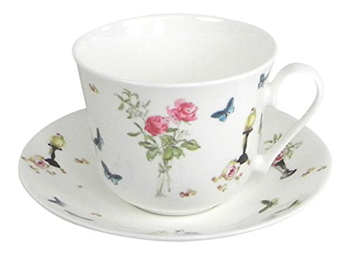 Roy Kirkham Perroquet By Nina Campbell Breakfast Teacup