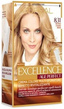 L Oreal Excellence Age Perfect Tinte para el cabello 8. 31 ...
