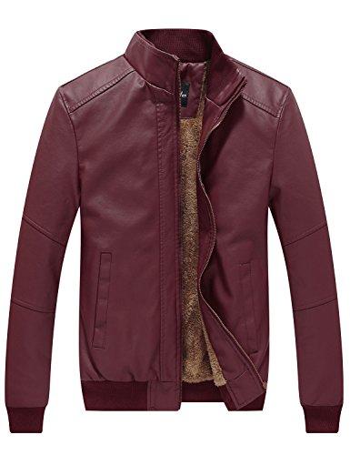 WenVen-Mens-Winter-Fashion-Faux-Leather-Jackets