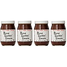 Bone Suckin Original BBQ Sauce (Pack of 4)