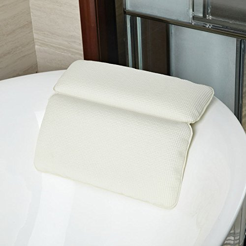 MATAS Neck & Back Non-Slip Cushioned Bath Tub Spa Pillow Suction Cups Great Relaxing by MATAS (Image #5)