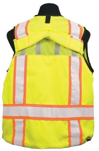 ML Kishigo - High Performance Pro Series DuraTuff High Quality Safety Vest - Class 2 Lime - Large