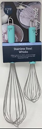 Core Kitchen Whisk Set, 2-pc Stainless Steel, 12