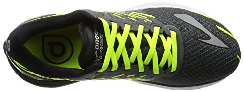 Brooks PureCadence 5, Scarpe Sportive Uomo Antracite/Lime