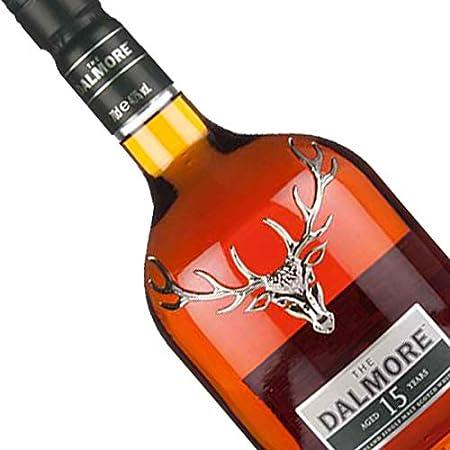 Whisky Dalmore 15 años de 70 cl - D.O. Escocia - Bodegas Gonzalez Byass (Pack de 5 botellas)