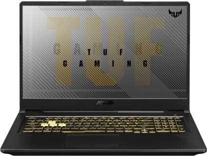 Asus TUF Gaming A17 Ryzen 5 Hexa Core 4600H – (8 GB/1 TB HDD/Windows 10 Home/4 GB Graphics/NVIDIA GeForce GTX 1650/60 Hz) FA706IH-AU054T Gaming Laptop (17.3 inch, Gray Metal, 2.6 kg)