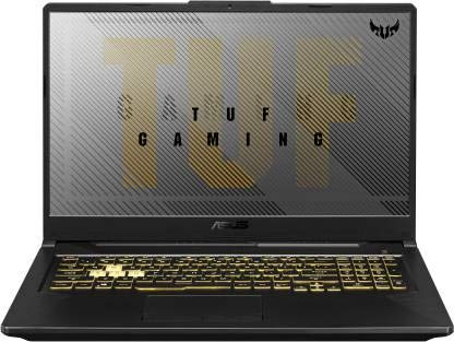 Asus TUF Gaming A17 FA706IH-AU016T(Ryzen 5 Hexa Core 4600H/8 GB/512 GB SSD/Windows 10 Home/GDR6 4 GB Graphics/NVIDIA Geforce GTX 1650/120 Hz/17.3 inch/Gray Metal/2.6 kg)