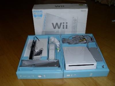 Nintendo Wii Konsole weiss mit Homebrew Channel Umbau