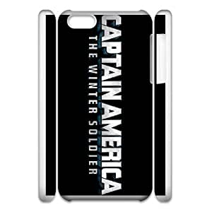 iphone 5c Cell Phone Case 3D Comics Captain America The Winter Soldier logo Present pp001-9535704