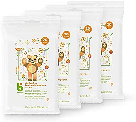 Babyganics Alcohol Free Hand Sanitizer Wipes Mandarin 20 Ct 4