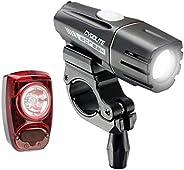 Cygolite Streak 450 Lumen Headlight & Hotshot SL 50 Lumen Tail Light USB Rechargeable Bike Light Combo