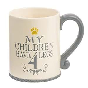 My children have 4 legs mug by grasslands for Grasslands road mugs