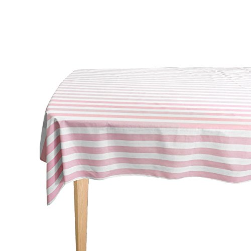 Striped Cotton Tablecloth (1