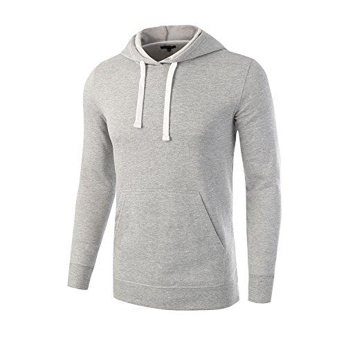 Sport Grey Youth Hoodie - 3
