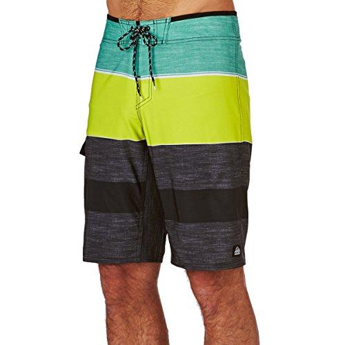 Mens Slideazoid Boardshort Size 36 Red