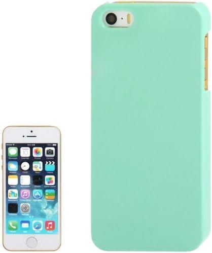 Cover case custodia plastica rigida per iPhone 5 5s verde acqua ...