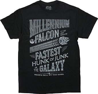 c9ff50ca Amazon.com: Han Solo Chewbacca Chewie Millennium Falcon Junk Funny ...