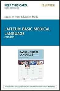 basic medical language elsevier ebook on intel education
