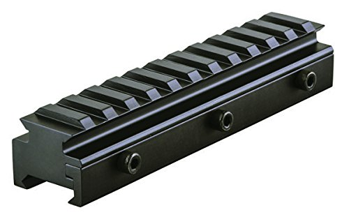 B-Square Flat Top Riser, Matte Black Finish (Ar 15 Flat Top Riser)