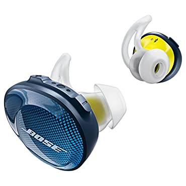 Bose SoundSport Free Truly Wireless Sport Headphones Midnight Blue / Citron