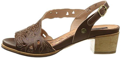 castor Vestir 146 De Zapatos Marrón Mujer Cuero Neosens Callet Marron Hwg4qxz77