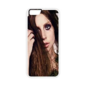 Lady-Gaga iPhone 6 Plus 5.5 Inch Cell Phone Case White Nvnov