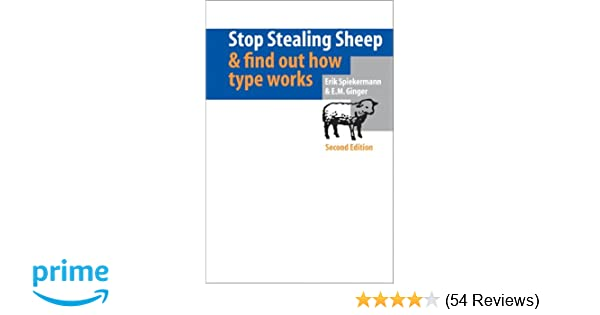 77aaf263039bc Stop Stealing Sheep   Find Out How Type Works (2nd Edition) 2nd Edition