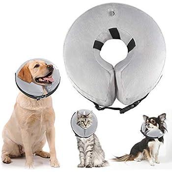 Amazon.com: ATLES Collar hinchable para perro después de la ...