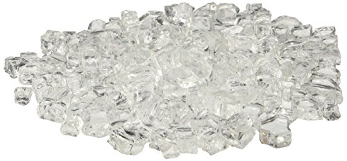 American Fireglass 10-Pound Fire Glass with Fireplace Glass and Fire Pit Glass, 1/4-Inch, Star Fire by American Fireglass