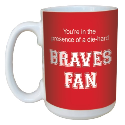 Tree-Free Greetings lm44646 Braves College Basketball Ceramic Mug with Full-Sized Handle, 15-Ounce Bradley Braves Ncaa Basketball