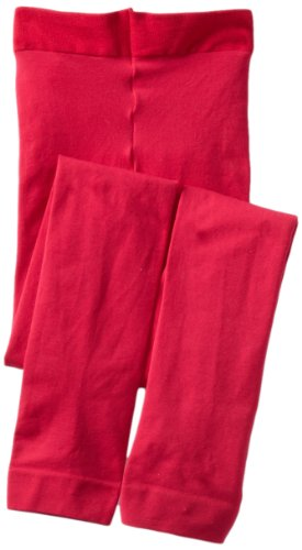 (Jefferies Socks Big Girls'  Microfiber Footless Tight, Hot Pink, 8-10 Years)