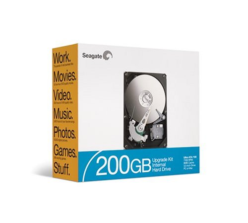Seagate ST3200822A-RK 200 GB ATA Internal Hard Drive ()