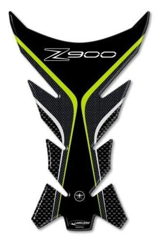 Protector de Depósito en Gel 3d Protector de Depósito Compatible para Moto Kawasaki Z900: Amazon.es: Coche y moto