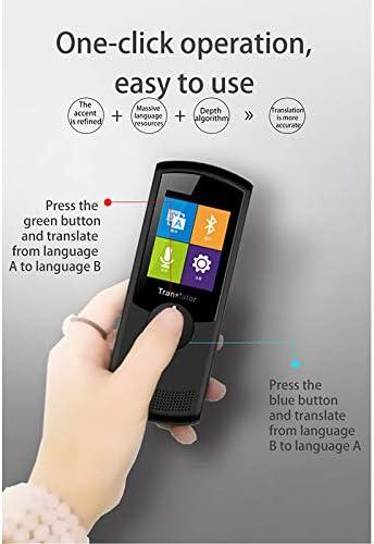 LDJC Intelligentes Sprachübersetzungsgerät, 42 Landessprachen für WiFi-Übersetzungsartefakte Eingebaute Lithiumbatterie 1450-mah-Doppelsynchronsprachen-Übersetzungsmaschine