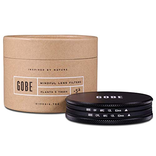 Gobe Filter Kit 82mm MRC 12-Layer: UV + CPL Polarizer