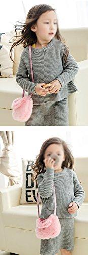 Gespout Baby Umhängetasche Kinder Schultertasche Coin Pocket Kleines Tasche Münzengeld Beutel Mehrzweck Paket Aufbewahrungs Tasche Storage Bag Blau W7hr4h