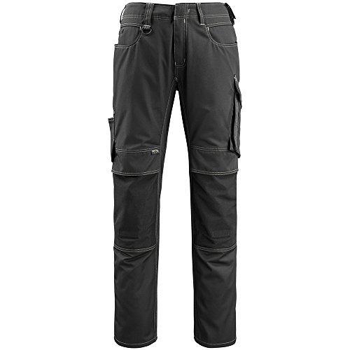 Mascot 12779-442-09-82C43 Mannheim Safety Trousers Black L82cm/C43 [並行輸入品]  B07Q2ZYLXJ