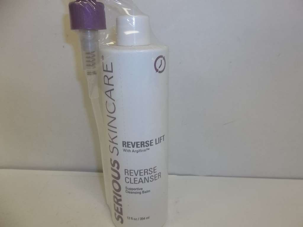 Serious Skin Care reverse Lift Cleanser with Agrifirm 12 oz Jubujub