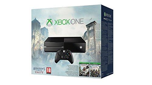 Microsoft Xbox One Assassins Creed Unity Bundle 500GB Wifi Negro - Videoconsolas (Xbox One,